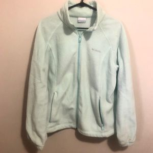Light Blue Columbia Sweatshirt